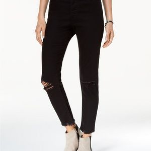 Levi's Ripped Skinny Wedgie Jeans
